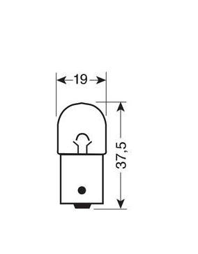 Ampoule BA15d  24V / 5W