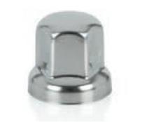 Cache-écrou en acier inoxydable brillant 32 mm