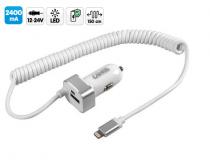 Chargeur APPLE iPod - iPhone - iPad avec 1 USB 2400 mA