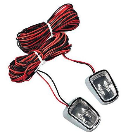 Double SPOTS LEDS 24 V intérieur/extérieur