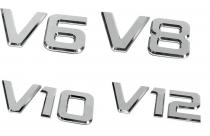 Emblèmes adhésives 3D  Moteur