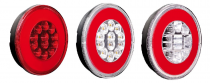 Feu arrière rond O-LED