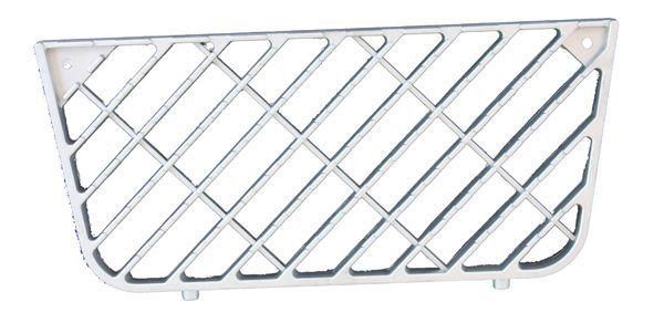 Grille aluminium centrale de marche-pied