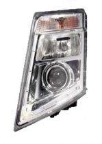 Optique de phare gauche argent pour Volvo FH 3