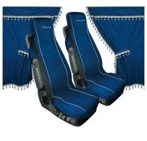 Pack rideaux et housses de sièges