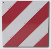 PLAQUE DE SIGNALISTION AVANT ou ARRIERE pour grands véhicules