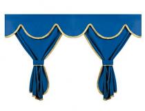 Set de rideaux de cabine avec franges