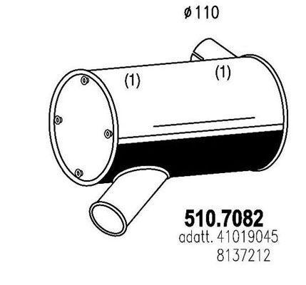 510.7082 iveco eurotech 41019045