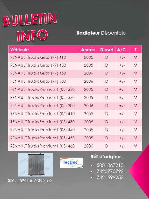 premium radiateur