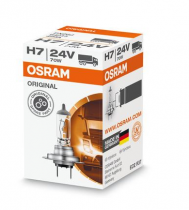 Ampoule OSRAM H7 halogène 24 V 70 W