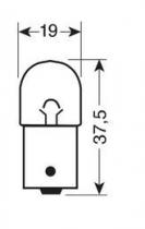 Ampoule R5W 24V / 5W