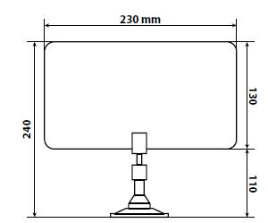 Antenne télé omnidirectionnelle 360°