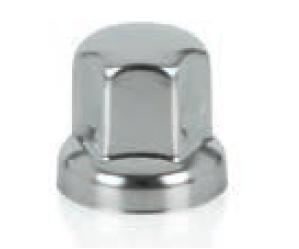 Cache écrou court acier inox 32 ou 33 mm
