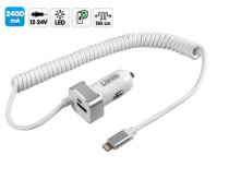 Chargeur APPLE iPod - iPhone - iPad avec 1 USB 2400 mA