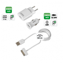 Chargeur kit complet APPLE Iphone - Ipad - Ipod