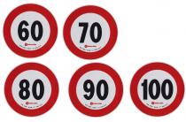 Disque adhésif de limitation de vitesse - plusieurs choix