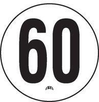 Disque adhésif de limitation de vitesse