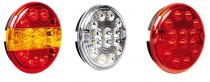 Feu arrière rond à LED