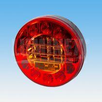 Feu arrière rond à LED 3 FONCTIONS