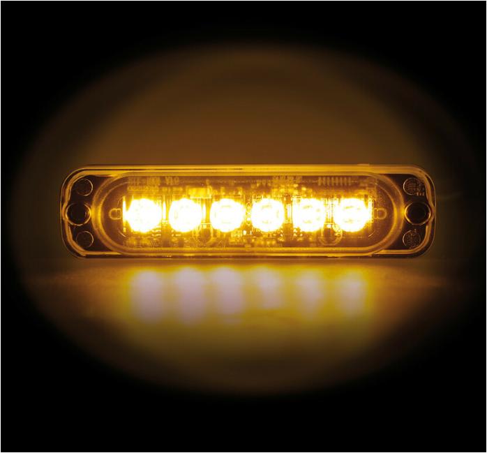 FEU CLIGNOTANT 6 LED multifonction