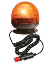 Gyrophare compacto bi-tension à base magnétique