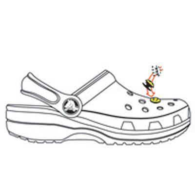 Jibbitz foot américain