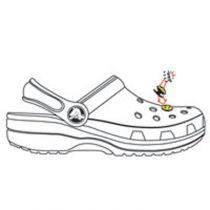Jibbitz foot