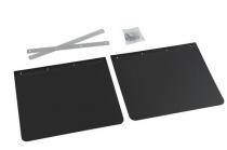 LOT de bavettes noires en PVC
