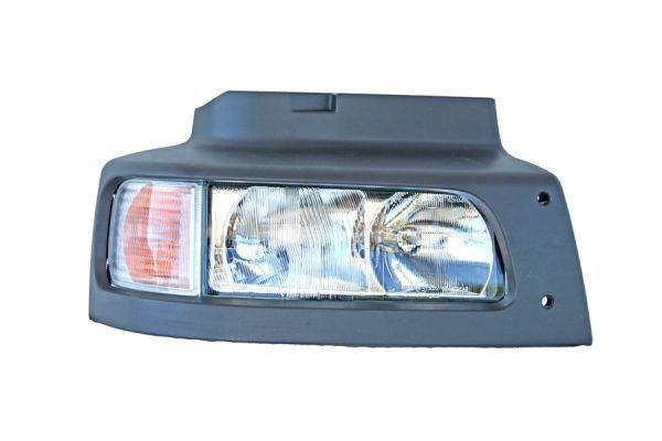 Optique complet avec entourage de phare