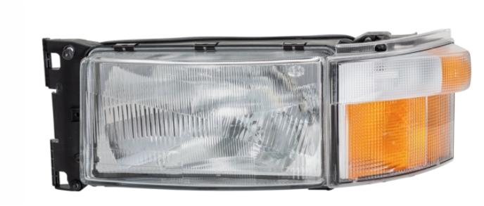 Optique gauche Scania série 4, P et R