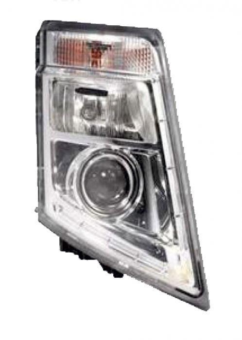 Optique de phare droit argent pour Volvo FH 3