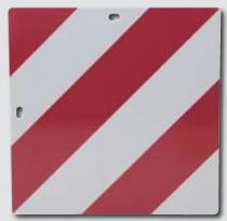PANNEAU AVERTISSEUR PLIABLE 30 x 12 cm