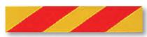 PANNEAU DE SIGNALISATION ADHESIF pour tracteur et porteur