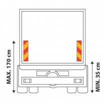 PLAQUES CAMION 565 X 130 mm