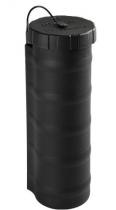 Porte-document cylindrique noir